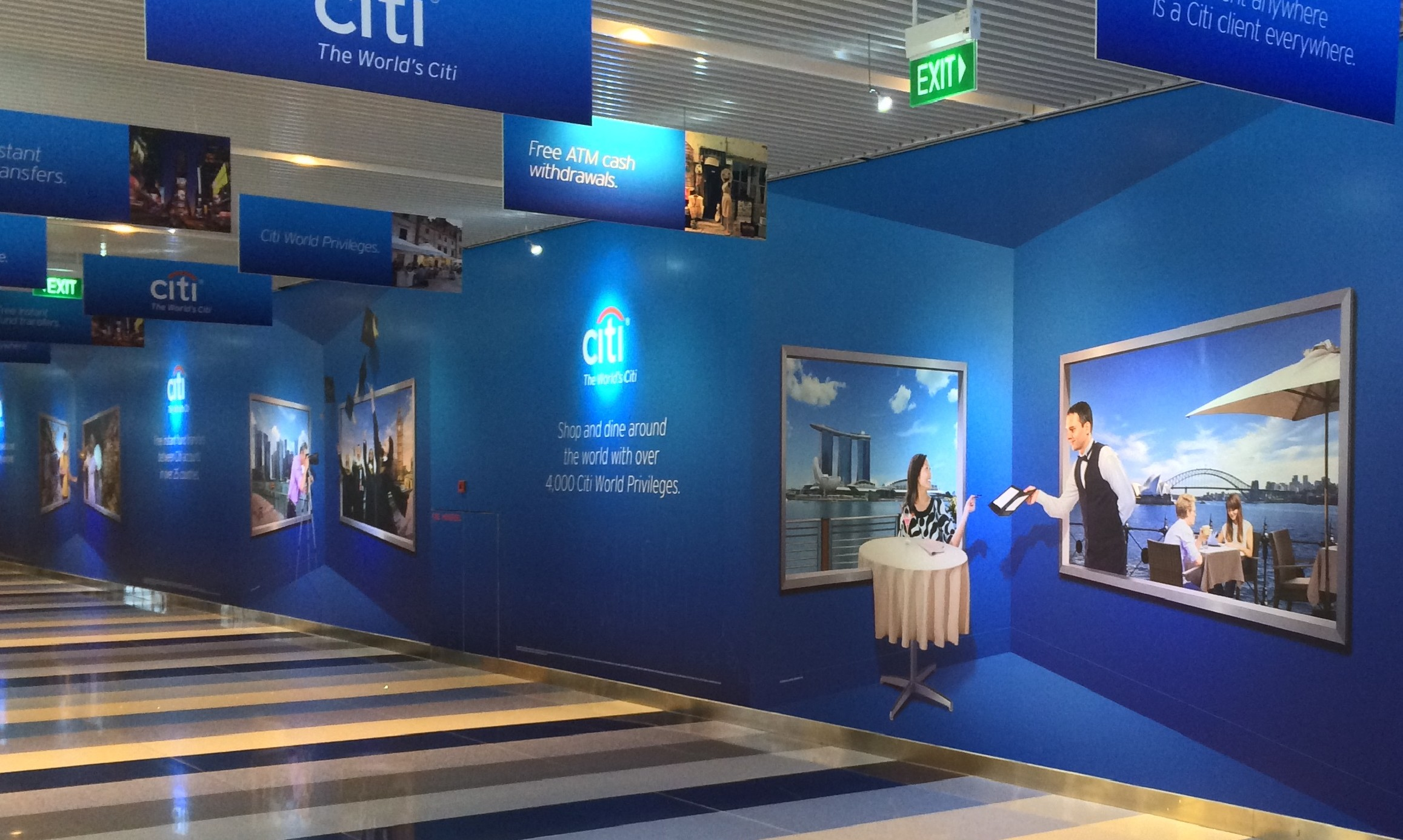 Citibank Singapore Launches Interactive Ad Campaign