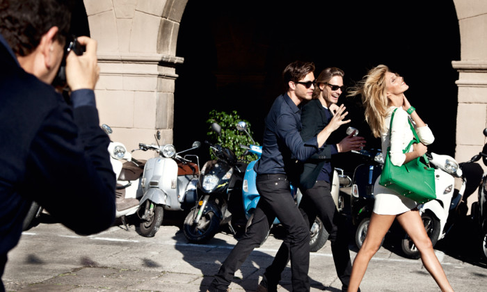 Furla_A sneak peek behind-the-scenes for Furla's new image