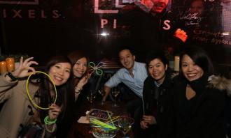 Say hi with your glow sticks!