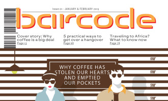 Barcode Issue 1 Cover