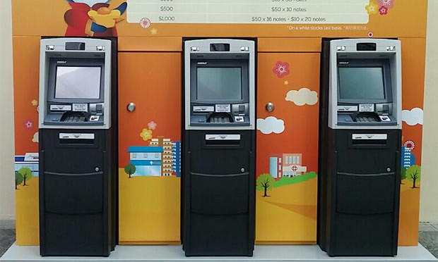 Look Dbs Creates Pop Up Atm Machines For Cny Tradition