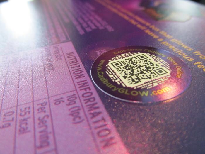 Cadbury Glow QR Code