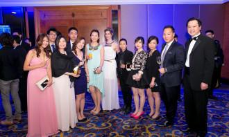 The Weber Shandwick Hong Kong team.