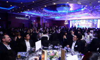Agency of the Year gala dinner.