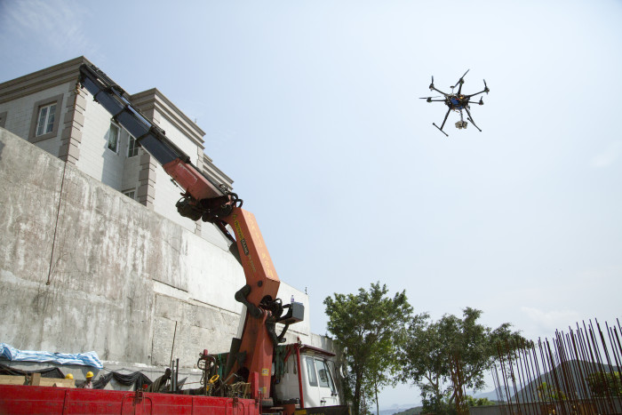 Aerobots-Building-Site