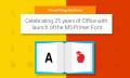 Microsoft Primer Font