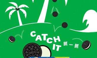 Play with OREO KV-TW-Catch It