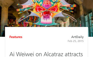 A piece about Ai Weiwei in the Planet Art mobile app.