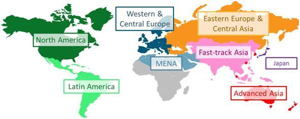 Zenith map