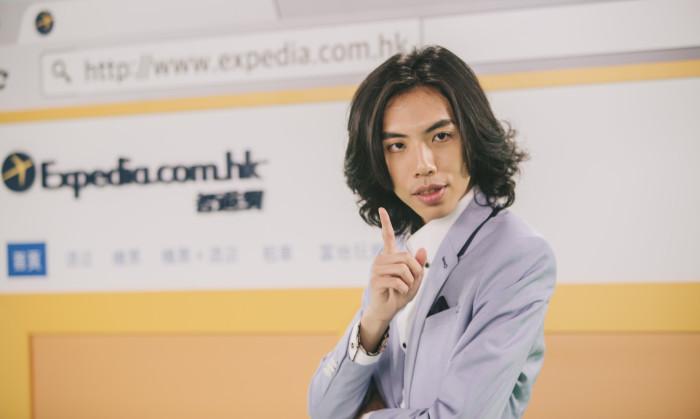 Expedia智遊網與網絡紅人達哥合作的電視廣告將於5月22日首播 (2)