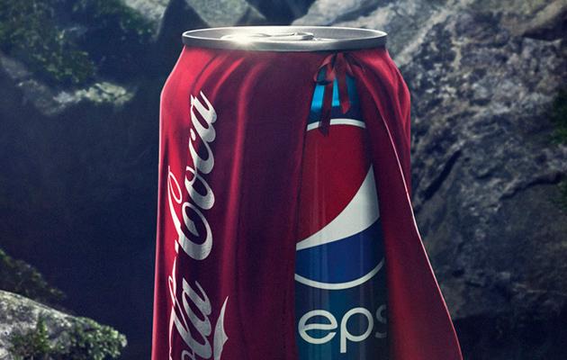 Pepsi Vs Coca Cola Halloween Ad.Another Pepsi Ad Takes A Jibe At Coke Marketing Interactive