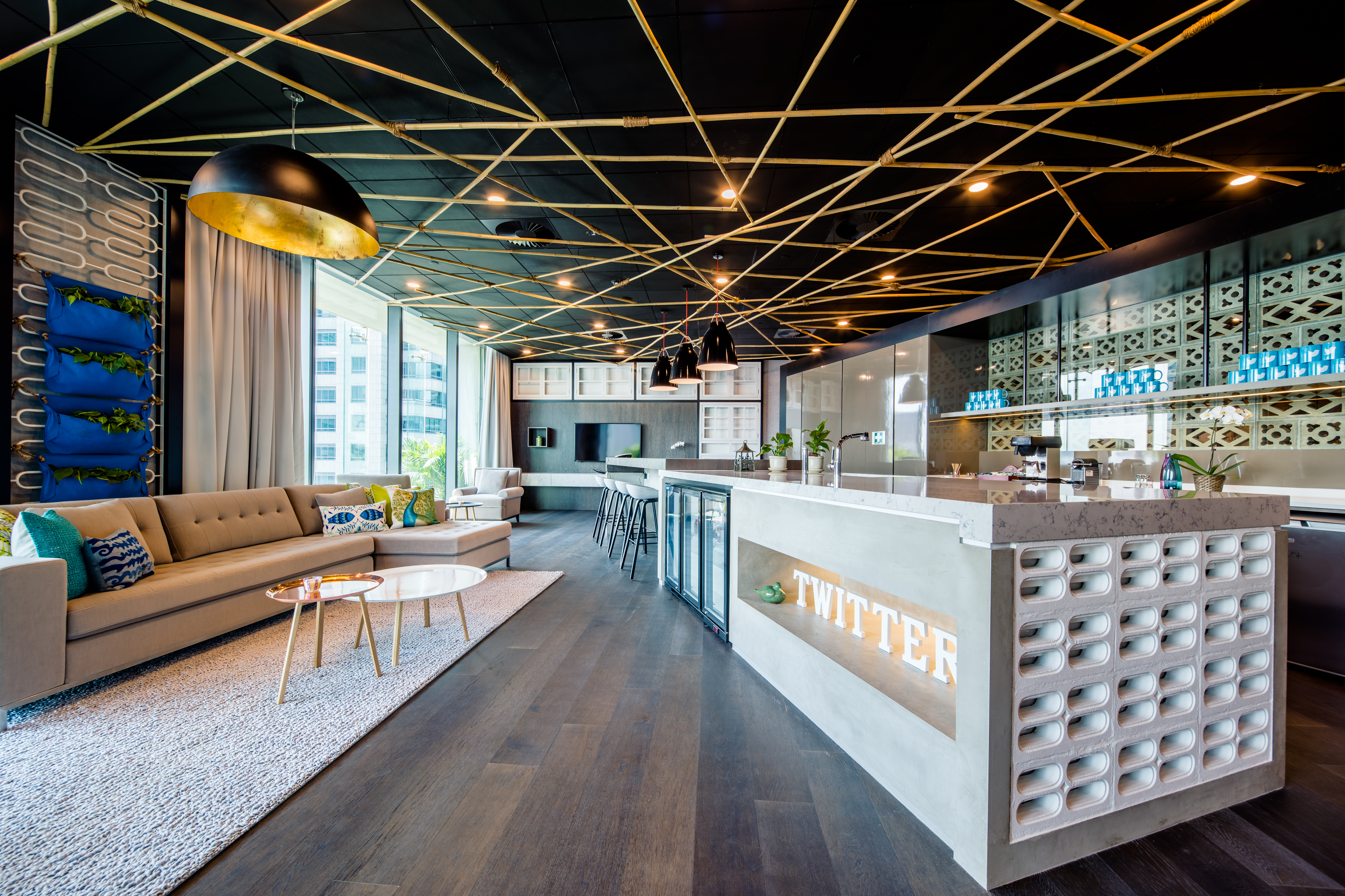 Look inside twitter s newly launched sg quarters for Product design singapore