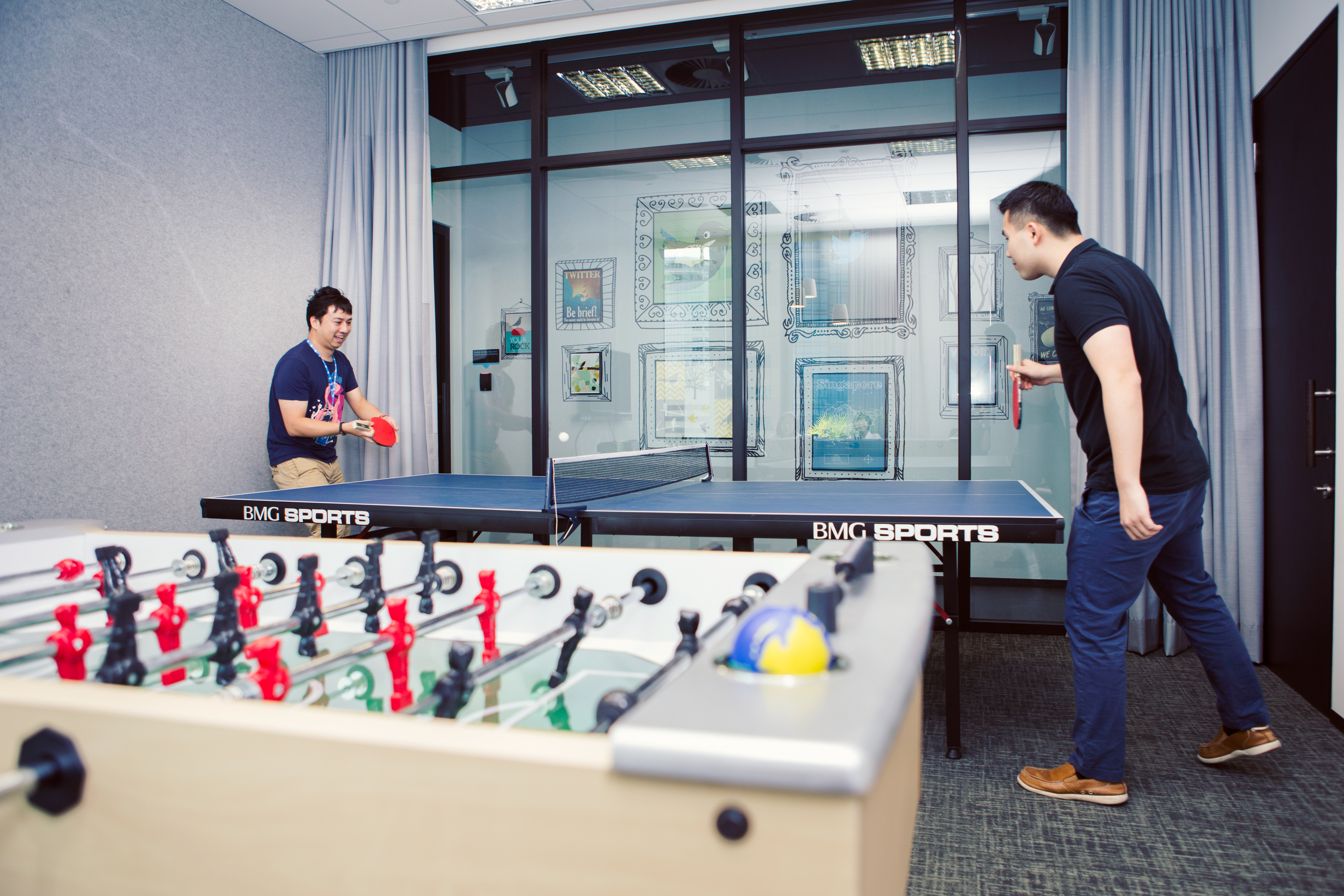 Look inside twitter s newly launched sg quarters for Office design game