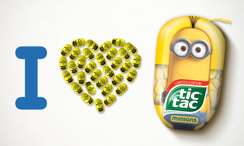 look tic tac makes minions edition marketing interactive
