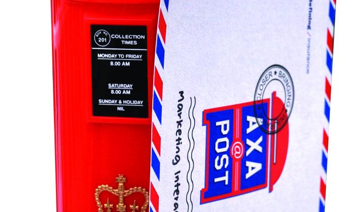 direct mail - axa