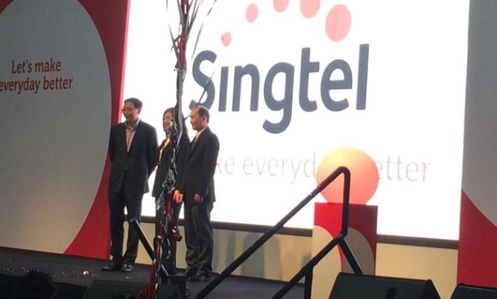 singtel - new logo