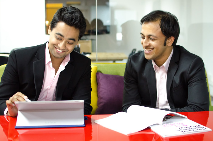 Happy Marketer - Managing Partners - Rachit Dayal (Left), Prantik Mazumdar (Right)