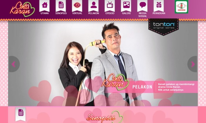 Senheng and Media Prima collaborated to produce a romantic webisode titl...