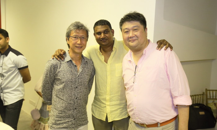 Anand with Patrick and Mark