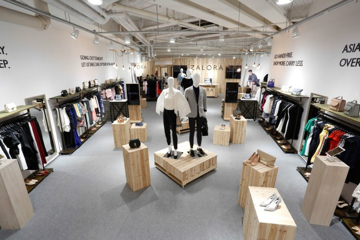 Zalora's first pop-up store in Hong Kong