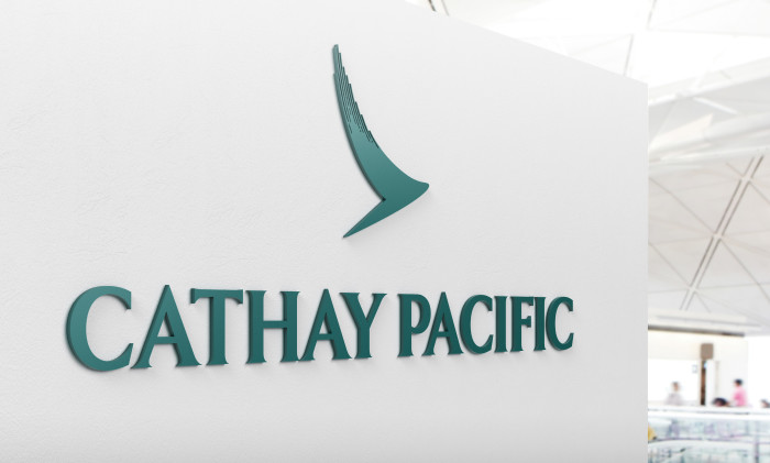 Cathay Pacific Signage