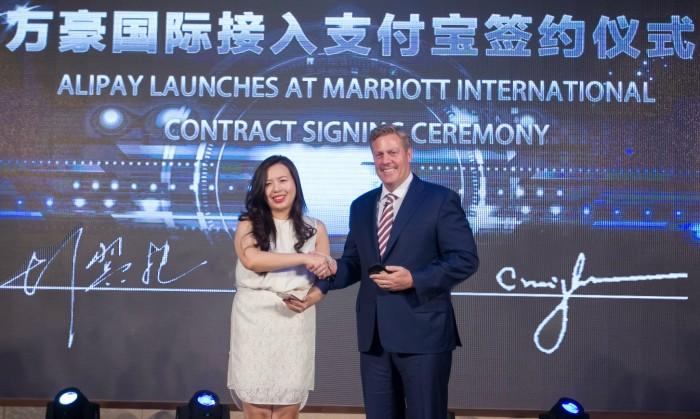 Marriott International and Alipay