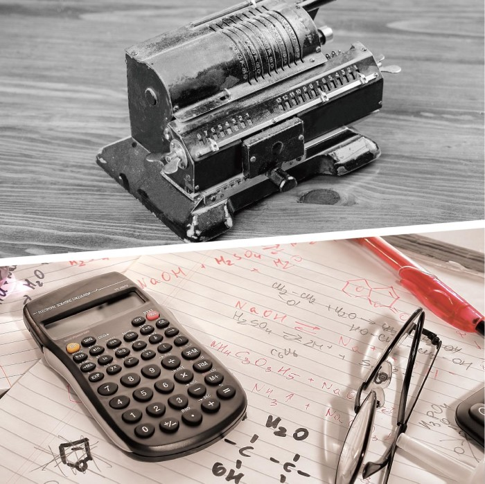 9. Small but Mighty Calculator
