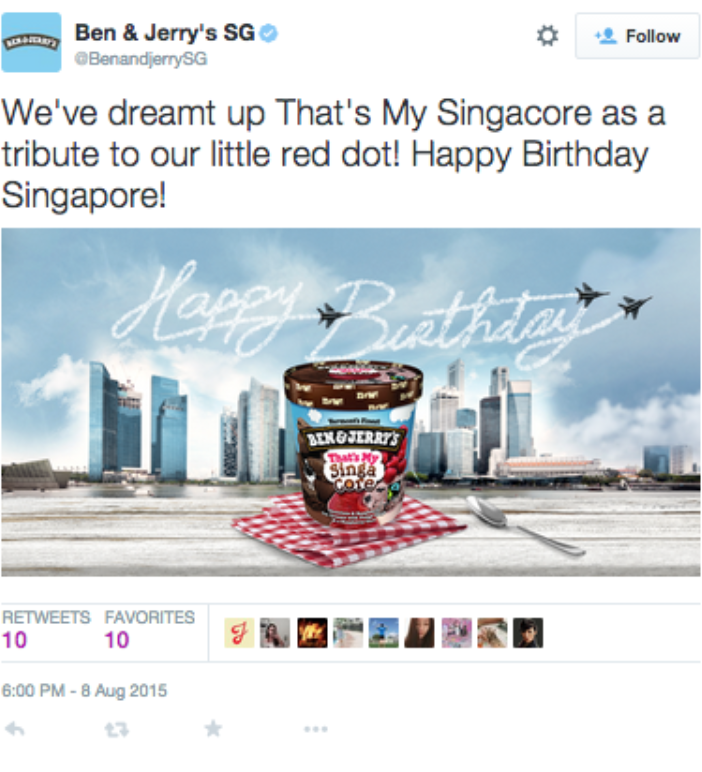 case study the latest scoop from ben jerry s marketing interactive