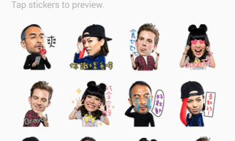 CircleK Line Sticker