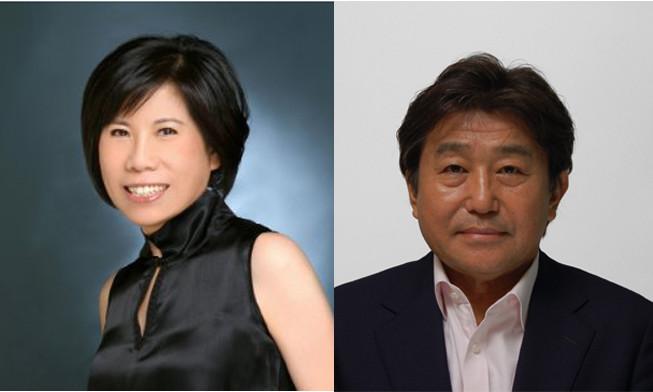 Dentsu Aegis Network Ann Yang and Isao Miyauchi