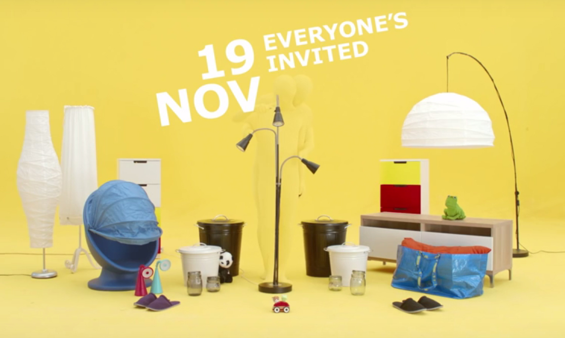 Ikea Turns Its Quirky Furniture Names To Song Lyrics Video Marketing Interactive