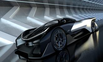 FFZERO1 Super Electric Sports Car - 3