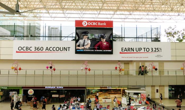 OCBC HDB HUB LED