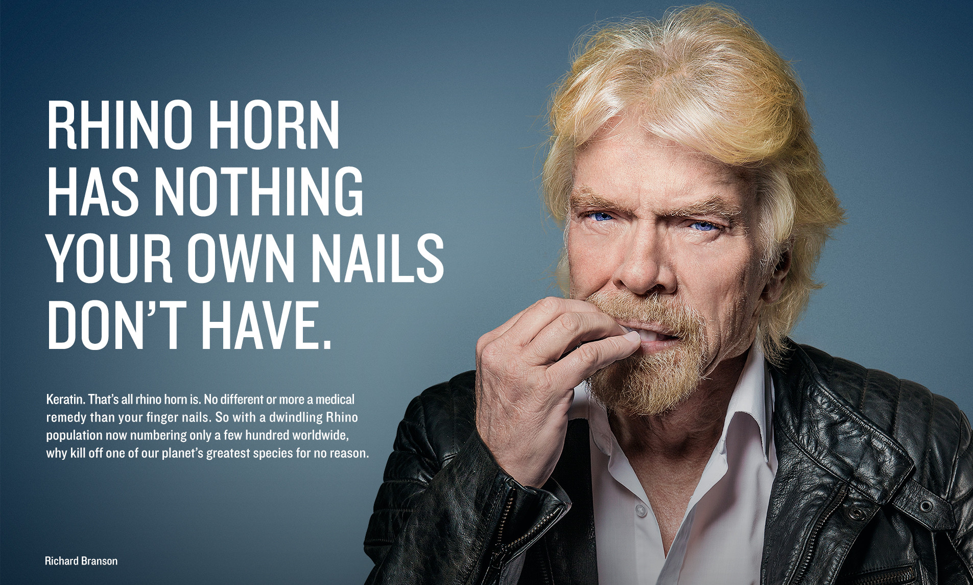 WildAid runs \'Nail Biter\' campaign to save rhinos | Marketing ...