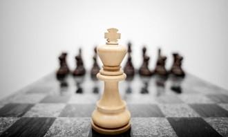 Shutterstock chess business