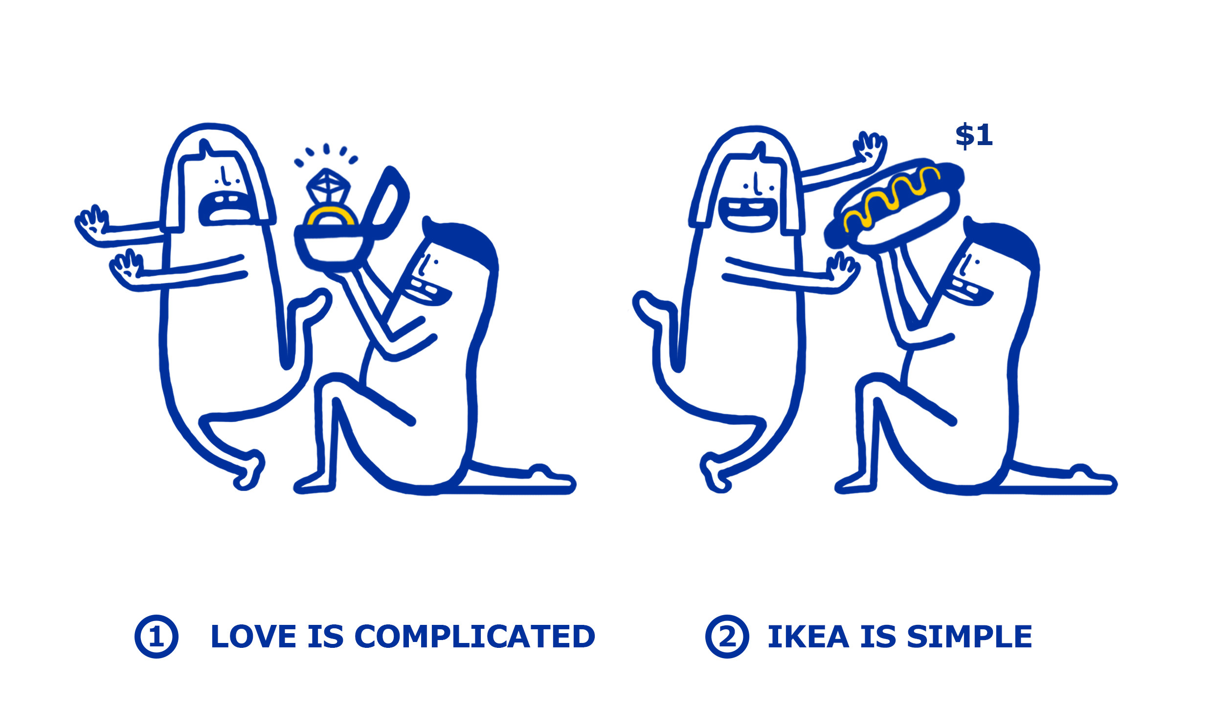 Look ikea simplifies your complicated love problems for Ikea immagini divertenti