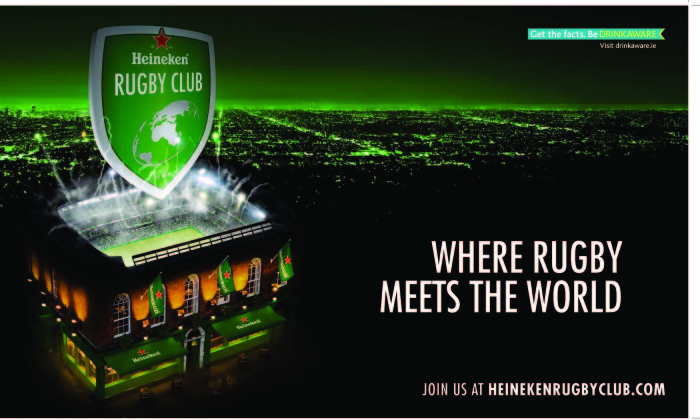 Heineken launches new campaign for Rugby fans | Marketing Interactive