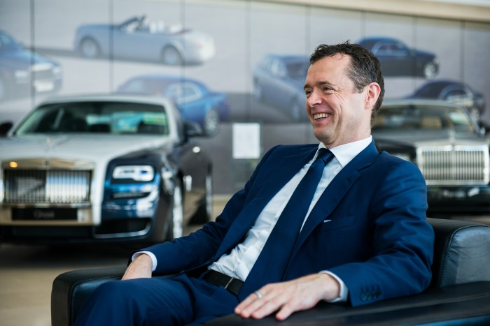 global director of sales and marketing Fintan Knight  Rolls Royce