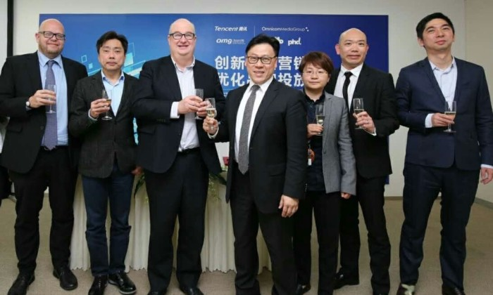 Omnicom Media Group and Tencent Partnership 1