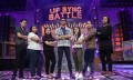 The group from Mediaforce, along with the other finalists, Starcom Mediavest and Zenith Optimedia on the set of Lip Sync Battle Philippines