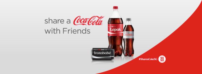 Share a Coke Singapore 2