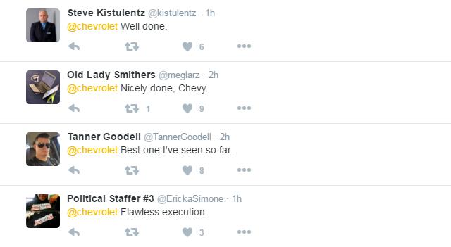Tribute tweets