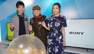 Opening ceremony of Sony Store Mongkok