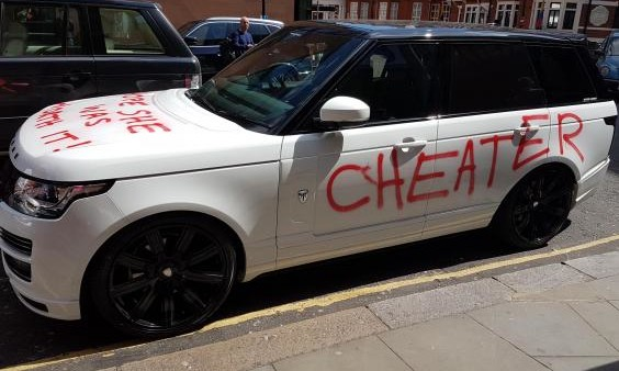 Range Rover Cheater