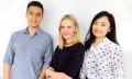 AnalogFolk Hong Kong from left to right - Charles Tatham, Jocelyn Liipfert Lam and Summer Yang