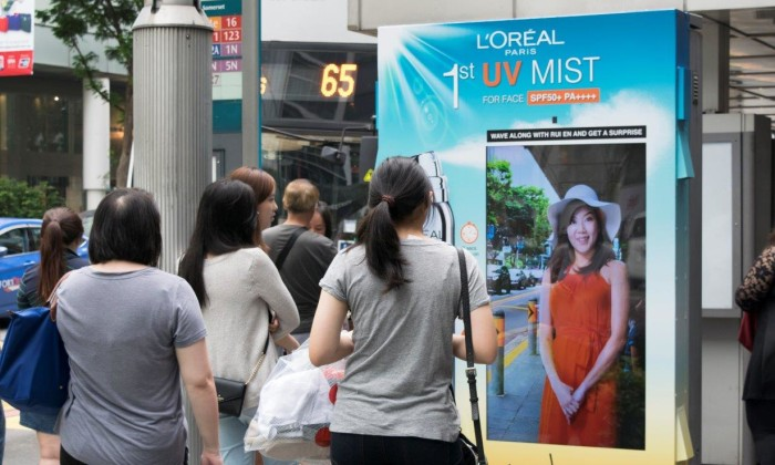 L'Oreal Paris Singapore employs star power