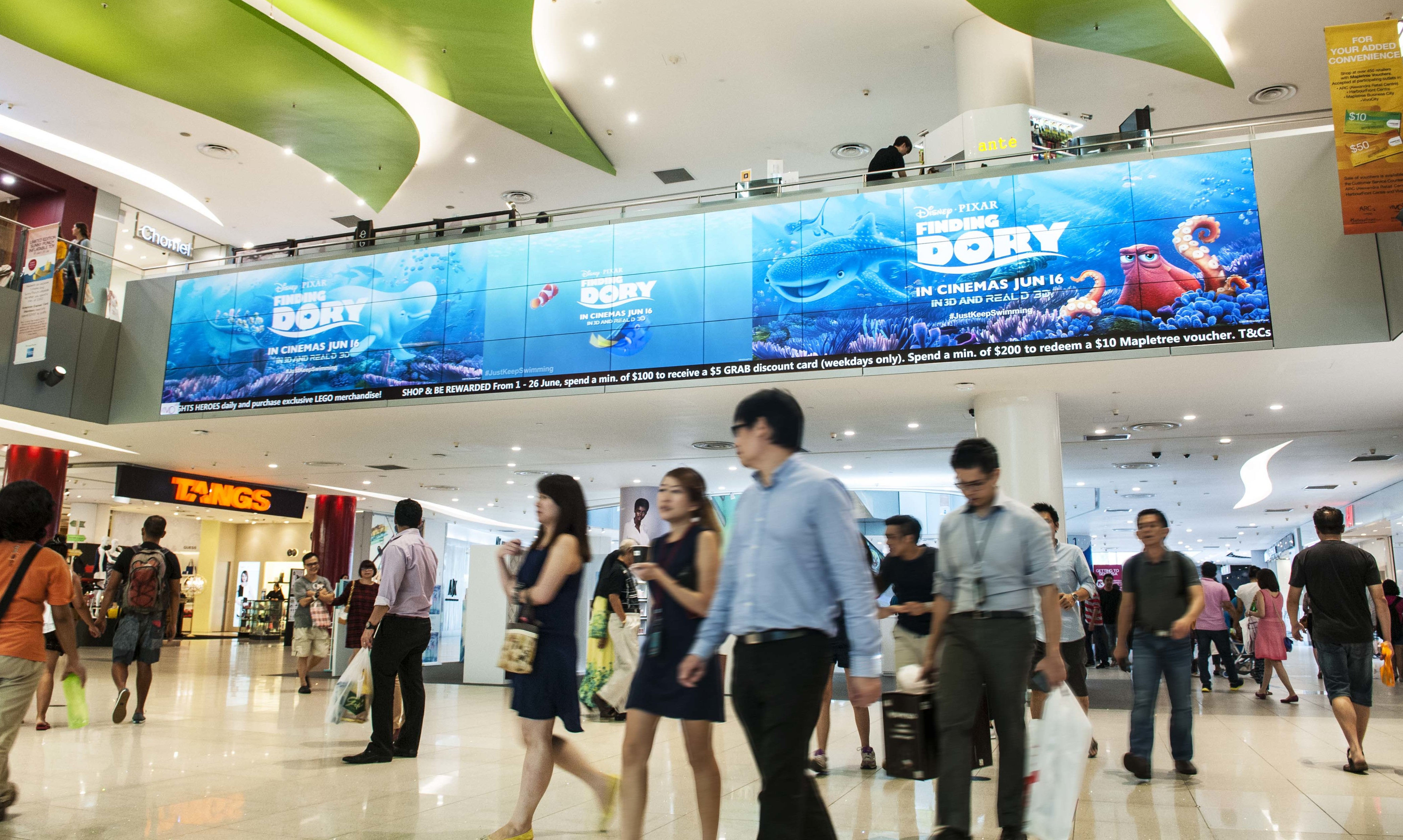 Sphmbo Shows Off Latest Ooh Offering In Vivocity