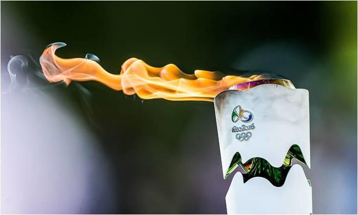 Rio Olympics flame
