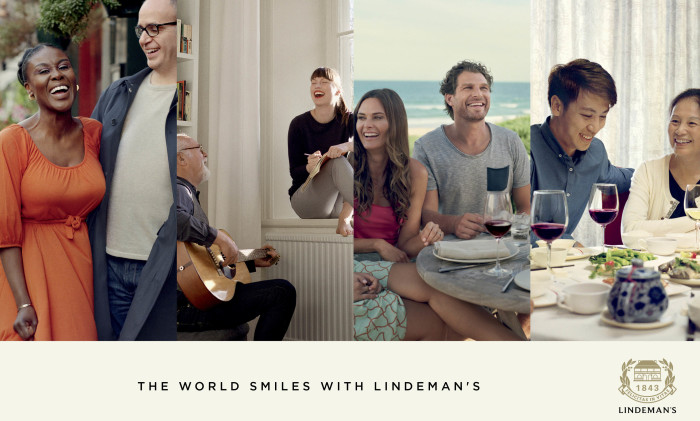 The World Smiles with Lindeman's image
