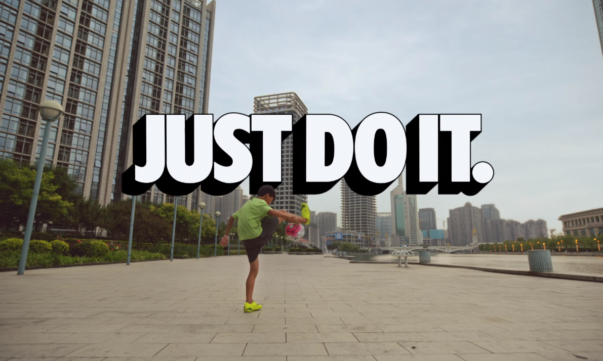 Nike China takes a fresh look at it classic tagline 'Just ...